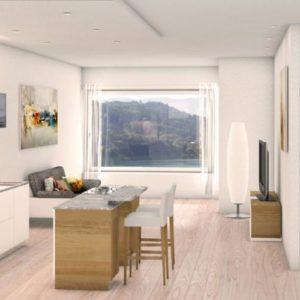 Appartement Ossiach II - Treffen - Karinthië - 4 personen - woonkamer
