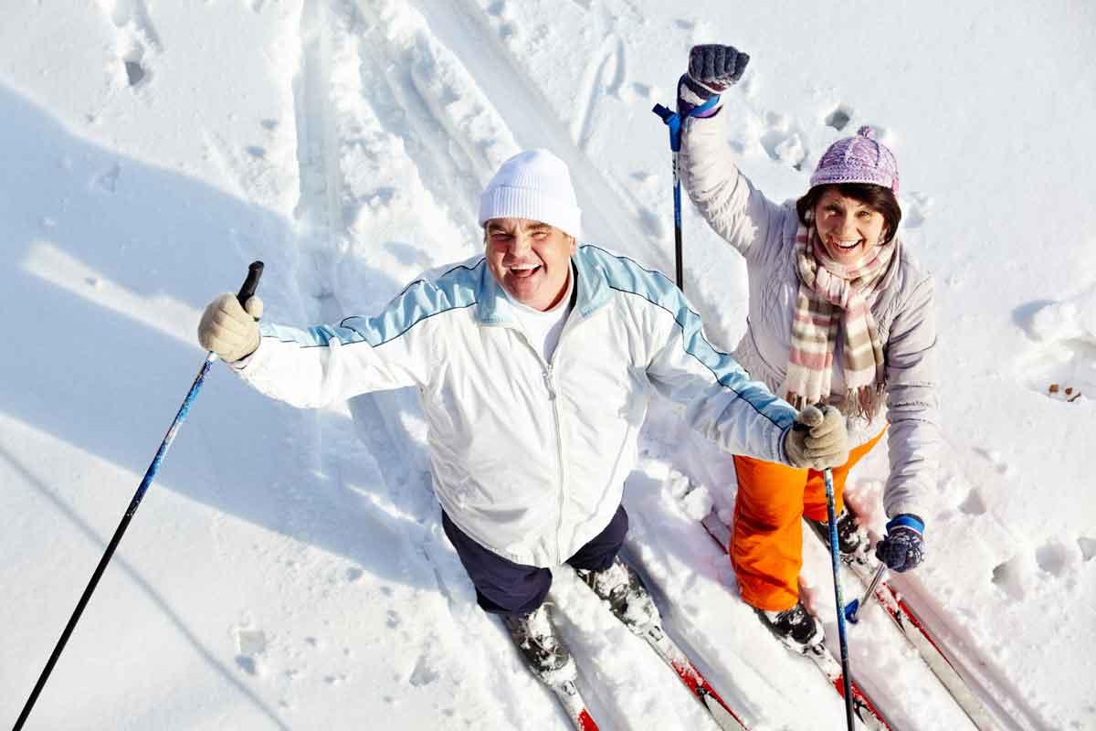 gezellig samen skiën