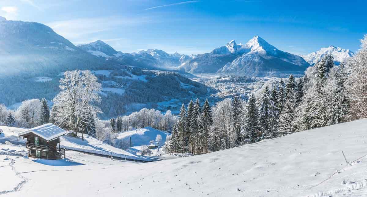 wintersport oostenrijk panorama